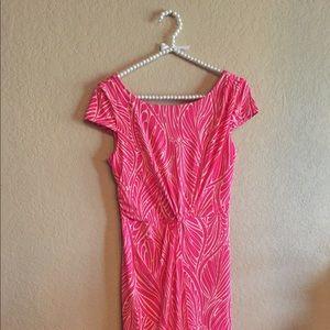 Victoria Secret Small Pink Dress Stretchy Leaf